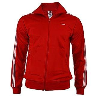 adidas Originals Mens Mens Beckenbauer Track Top in Red - XL