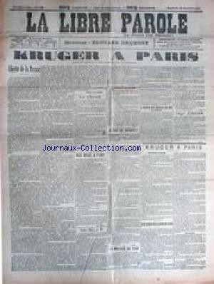 LIBRE PAROLE (LA) [No 3141] du 25/11/190...