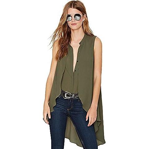 Years Calm - T-shirt - Femme vert Green - vert - 36