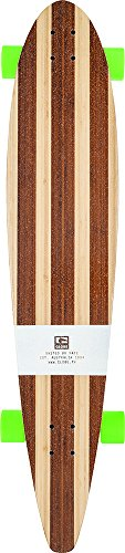 Globe 10525157 - Longboard (44'', bambú), color verde
