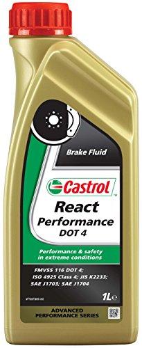 Castrol 15 A1ec React Performances Bosch DOT4 Liquide Liquide de Frein