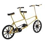 F Fityle 1 : 10 Fahrrad Figur Fahrradmodell Fingerfahrrad Finger Bike, Geschenk für Freunde und Familien - Schwarz