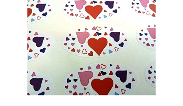 Zebra Druck Ovale Siegel Etiketten,Sticker Für Geschenk Wrap,Umschlag,Beutel //