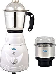Amikan Happy Home Little Cube || Mixer Grinder || 450 Watts || Copper Winding Motor || is Approved Motor || 1 Season Warranty || 3 Speed Mode || with 2 Jars || New Stylish Deign