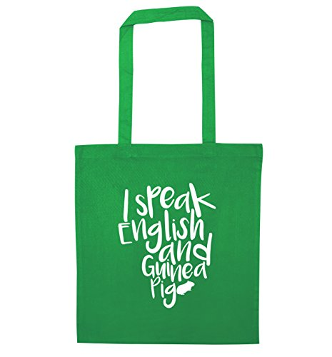 Parlo inglese e Guinea Pig Borsa Green