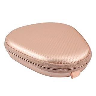 geekria ejb51Hard Carrying Case für LG HBS 1100, HBS 910, Jabra, bluenin, Bluetooth Wireless Stereo Headset/Schutz Reisetasche mit Platz für Power Bank, Adapter und Zubehör (Rose Gold)