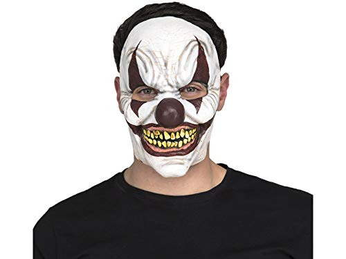 My Other Me One Size Clown Maske, Mehrfarbig (Me Other Me 207211)