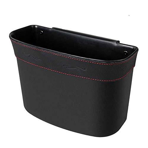 Idebris Auto Mülleimer kreative Mode Auto hängen Aufbewahrungsbox Aufbewahrungsbox Auto Müllsack (Color : Schwarz)