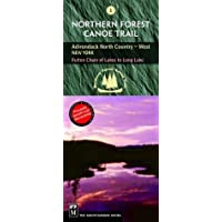 Northern Forest Canoe Trail: Adirondack North Country (West), New York, Fulton Chain of Lakes to Long Lake (Northern Forest Canoe Trail Maps) Fol Map edition by Northern Forest Canoe Trail (2004) Paperback
