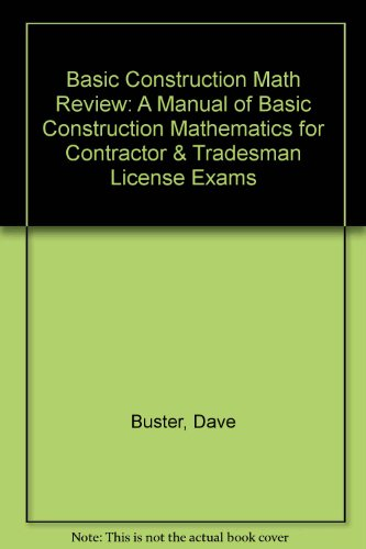 basic-construction-math-review-a-manual-of-basic-construction-mathematics-for-contractor-tradesman-l