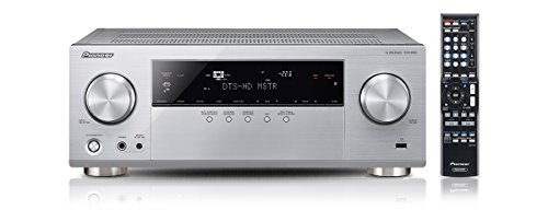 Pioneer VSX-830-S 5.2 Netzwerk-Mehrkanal Receiver (140 Watt Pro Kanal, WiFi, Bluetooth, Ultra-HD Video Scaler, HDCP 2.2, App Steuerung, Airplay, DLNA, Internetradio, Spotify Connect) Silber - Pioneer 6-kanal-verstärker