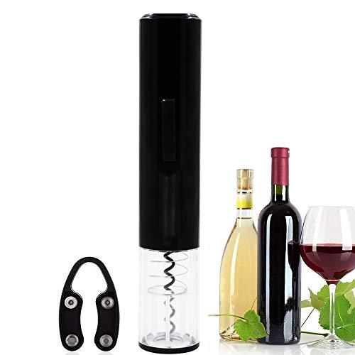 Elektrischer Korkenzieher,Schnurlos Automatik Weinöffner Profi Flaschenöffner Kapselschneider für Weinflaschen Batteriebetrieben (Nicht enthalten)