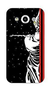 Upper case Fashion Mobile Skin Sticker for Samsung Galaxy core max