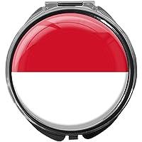 Pillendose/rund/Modell Leony/FLAGGE INDONESIEN preisvergleich bei billige-tabletten.eu