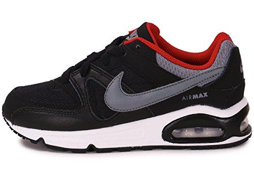 Nike Air Max Command (Ps) Scarpe Sportive, Ragazzo Nero/Grigio