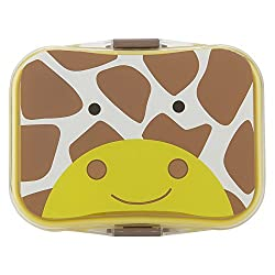 Jaypee Plus My Box Plastic Lunch Box Set, 4-Pieces, Yellow
