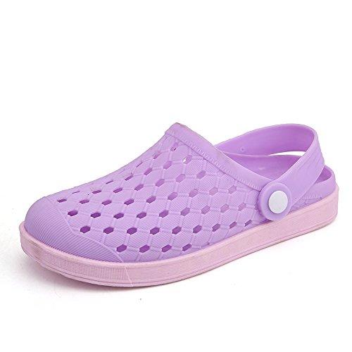 Gaatpot Unisex Clogs Hausschuhe Pantoletten Sommer Atmungsaktiv Beach Schuhe Sandalen Strandschuhe Aqua Slippers für Damen Herren 36-44