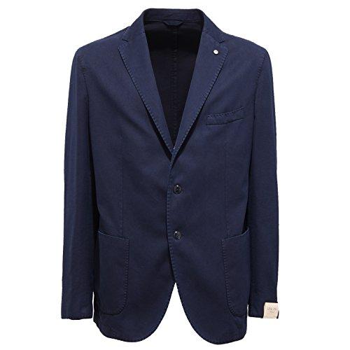 3328Q giacca uomo L.B.M. 1911 cotone blu jacket men [56-R]