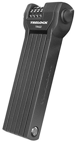 Trelock FS 360/85 Code Fahrradschloss, Black, 85 cm