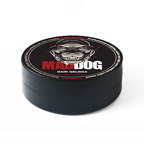 Gel Cera per Capelli Professionale Mad Dog 100ml. 100% Made in Italy