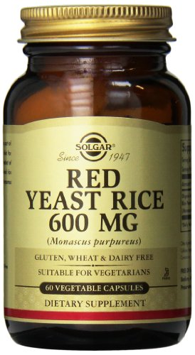 Solgar Red Yeast Rice 60 Vegetable Capsules Test