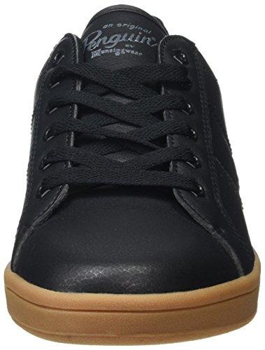Original Penguins Herren Steadman Sneaker Black (Black/Gum)