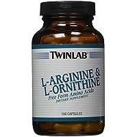 Twinlab L-Arginine and L-Ornithine, 100 Capsules by Twinlab preisvergleich bei billige-tabletten.eu