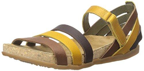 EL NATURALISTA NF42 ZUMAIA giallo grain corn sandali donna strappo multicolor 40