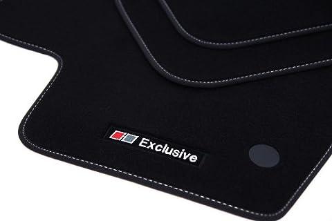 Exclusive Line Fußmatten für Dacia Logan MCV 2 II ab BJ. 2013-