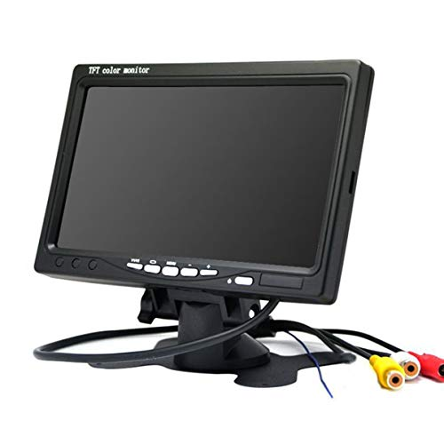 Monllack 7 TFT LCD Farb-HD-Monitor für Auto-CCTV-Rückfahrkamera -