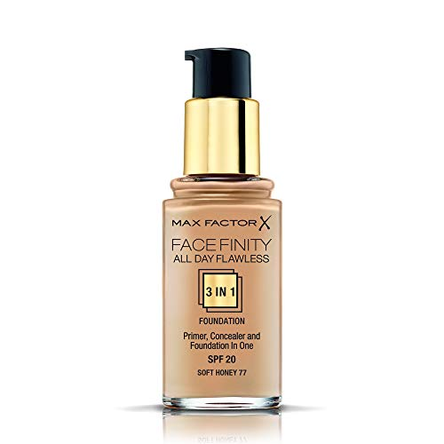 Max Factor FaceFinity 3 1 All Day Flawless Base Maquillaje