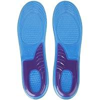 SODIAL(R) Cortable Inserto Plantilla De Gel De Zapatos Soporte Arco Curvas EU: 43-47