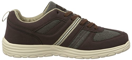 Kappa Herren Foggy Low-Top Braun (5041 Brown/Beige)