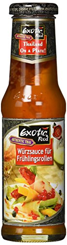 Exotic Food Sauce für Frühlingsrollen, 6er Pack (6 x 250 g)