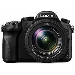 Panasonic Lumix Appareil Photo Bridge Expert DMC-FZ2000EF (Capteur Type 1'' 20 MP, Zoom Leica 20x F2.8-4.5, Viseur OLED, Ecran Tactile Orient, Fonct. vidéo Pro, Stabilisé) Noir - Version Française