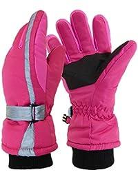 Kinder Thermohandschuhe Roeckl 3-8Jahre Winterhandschuhe Rosa Mädchen Handschuhe