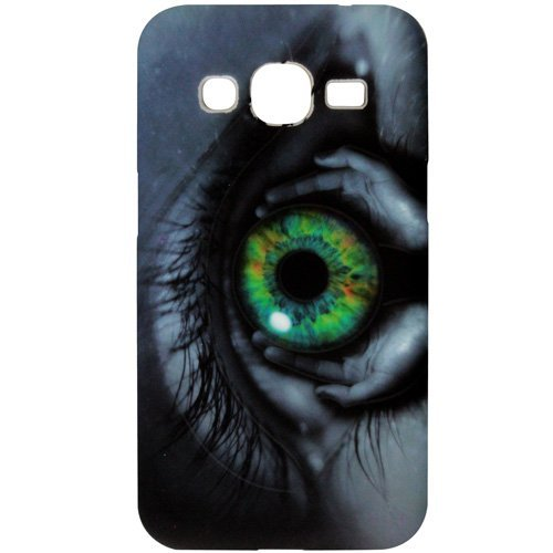 Casotec Designer Soft TPU Back Case Cover for Samsung Galaxy Core Prime G3606  available at amazon for Rs.125