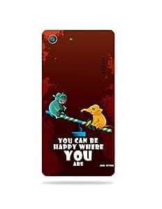 alDivo Premium Quality Printed Mobile Back Cover For Sony Xperia M5 / Sony Xperia M5 Printed Back Case Cover (MKD1052)