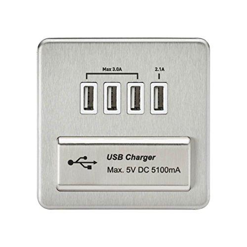 Knightsbridge Premium Range sin tornillos interruptores