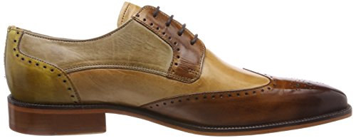 Melvin & Hamilton Jeff 14, Derbys Homme Multicolore (Crust/wood/nude/make Up/visione/cedro/ls Nat.)