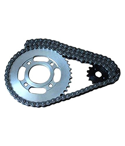 sewak bike chain sprocket assembly for lml freedom ls Sewak Bike Chain Sprocket Assembly For LML Freedom LS 41ivvFH0CFL