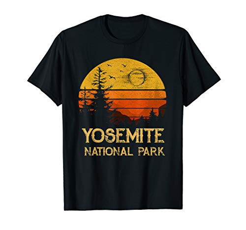 Vintage Yosemite National Park California T-Shirt -