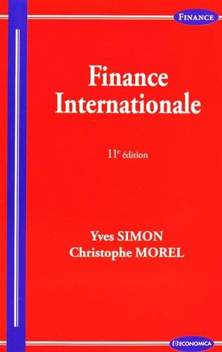 Finance Internationale, 11e ed.