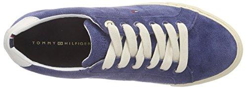 Tommy Hilfiger V1285ALI 1C, Sneakers basses femme Bleu (421)