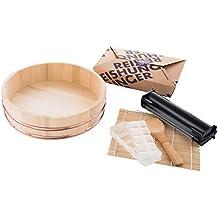 Reishunger Sushi Equipment Box XXL - mit Easy Sushi Maker 3,5cm - Komplettes Zubehörset für den perfekten Sushi Abend