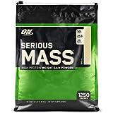 Optimum Nutrition Serious Mass - Vanille, 16 Portions - Mass gainer - Proteines en poudre pour musculation prise de masse, 5,45 kg