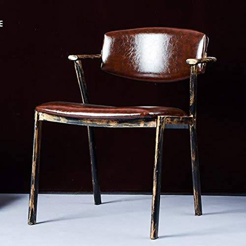 Bar Stool Retro Loft Chinese Style Metal Chair For
