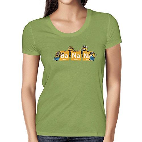 TEXLAB - Breaking Banana - Damen T-Shirt Kiwi