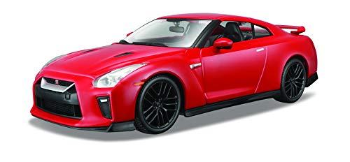 """Bburago B18-21082\""""Nissan GT-R 2017\"""" Fundido Kit de Modelo, 1: 24Escala"""