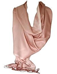Belle écharpe en soie réversible à deux côtés Écharpe écharpe ... fb2bff4f774